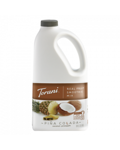 Torani Pina Colada Real Fruit Smoothie Mix (64oz), G-RealFruit Smoothie (PINA COLADA)