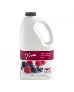 Torani Wildberry Real Fruit Smoothie Mix (64oz), G-RealFruit Smoothie (WILDBERRY)