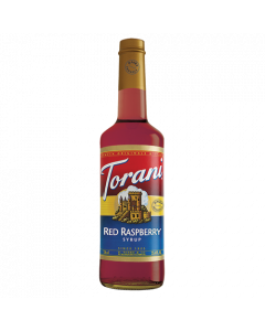 Torani Red Raspberry Syrup (750 mL), G-Red Raspberry