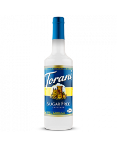 Torani Sugar Free Sweetener Syrup (750 mL), G-Sweetener-sf