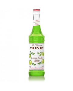 Monin Granny Smith Apple Syrup (750mL), H-Apple, Granny Smith
