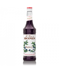 Monin Blueberry Syrup (750mL), H-Blueberry
