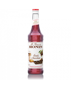 Monin Dark Chocolate Syrup (750mL), H-Chocolate, Dark