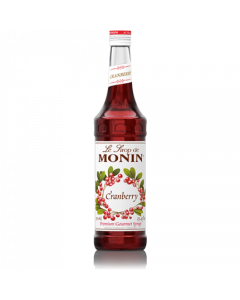 Monin Cranberry Syrup (750mL), H-Cranberry