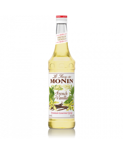 Monin French Vanilla Syrup (750mL), H-French Vanilla