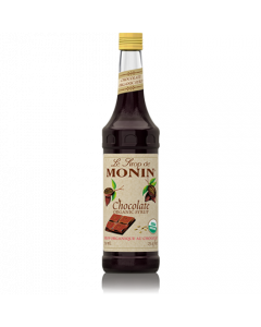 Monin Chocolate Organic Syrup (750mL), H-Organic, Chocolate