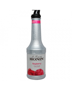 Monin Raspberry Fruit Puree (1L), H-Puree, Raspberry