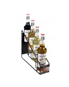 Monin Syrup Wire Rack (4 Bottles), H-WireRack4