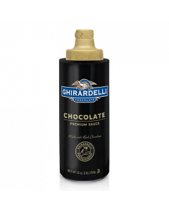 Ghirardelli Chocolate Flavored Sauce Squeeze Bottle (16oz), I-Chocolate-S (16oz bottle)