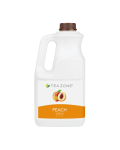 Tea Zone Peach Syrup (64oz)
