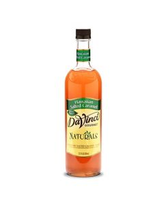 DaVinci Natural Single Origin Hawaiian Salted Caramel Syrup (700mL), K-Natural, Salted Caramel
