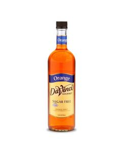 DaVinci Sugar Free Orange Syrup (750mL), K-Orange-sf