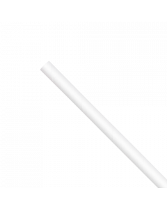 "Karat Earth 7.75"" Jumbo Paper Paper Straw (5mm) White (2,000 ct)  KE-C9400W"