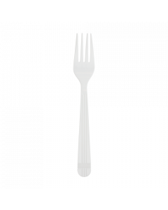 Karat PP Premium Extra Heavy Weight Forks - White - 1,000 ct