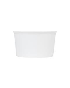 Karat Earth 12oz Eco-Friendly Paper Food Containers - White (114.6mm)