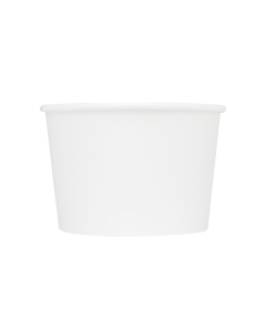 Karat Earth 16oz Eco-Friendly Paper Food Containers - White (114.6mm)