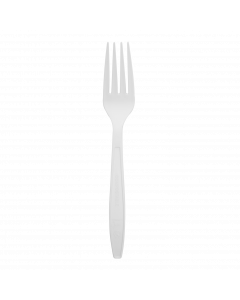 Karat Earth PLA Heavy Weight Compostable Forks - 1,000 ct, KE-U4510 (Natural)