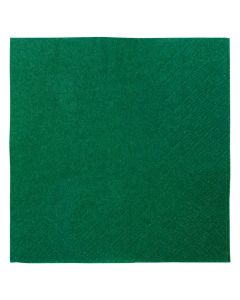 "Karat 9.5""x9.5"" Beverage Napkins - Green - 1,000 ct, KN-B9595-2GRE"