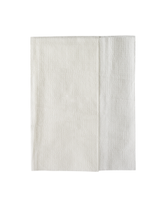 "Karat 12""x13"" Off-Fold Napkins - White - 6,000 ct, KN-F1213-1W"