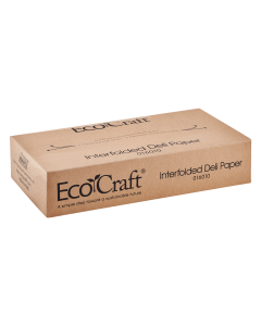 "EcoCraft 10"" x 10.75"" Interfolded Deli Paper - 6,000 ct"