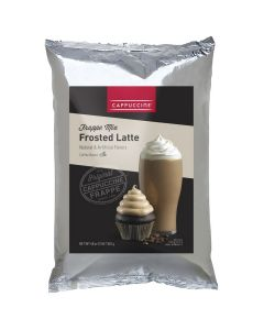 Cappuccine Frosted Latte Frappe Mix (3 lbs), P4000