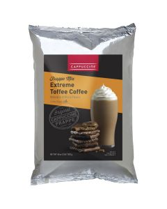 Cappuccine Extreme Toffee Coffee Frappe Mix (3 lbs), P4011