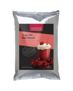 Cappuccine Red Velvet Frappe Mix (3 lbs), P4013