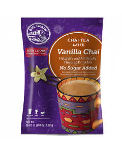 Big Train Vanilla Chai No Sugar Added Tea Latte Mix (3.5 lbs), P6011
