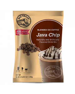 Big Train Java Chip Blended Ice Coffee Mix (3.5 lbs), P6034