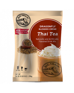 Big Train Dragonfly Thai Tea Blended Creme Frappe Mix (3.5 lbs)