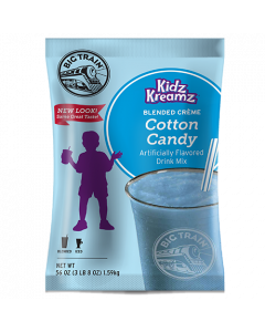 Big Train Cotton Candy Kidz Kreamz Frappe Mix (3.5 lbs), P6061
