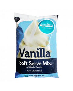 Frostline Vanilla Soft Serve Mix (6 lbs), P7700