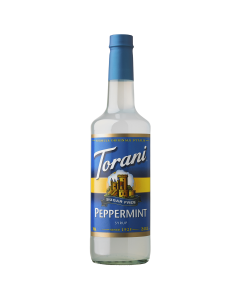 Torani Sugar Free Peppermint Syrup (750 mL), G-Peppermint-sf