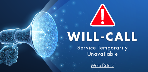 will-call-closed